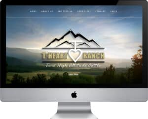 Focus Marketing Group | Your Complete Source for Livestock Marketing | Livestock Web Design and Development for T-Heart Ranch